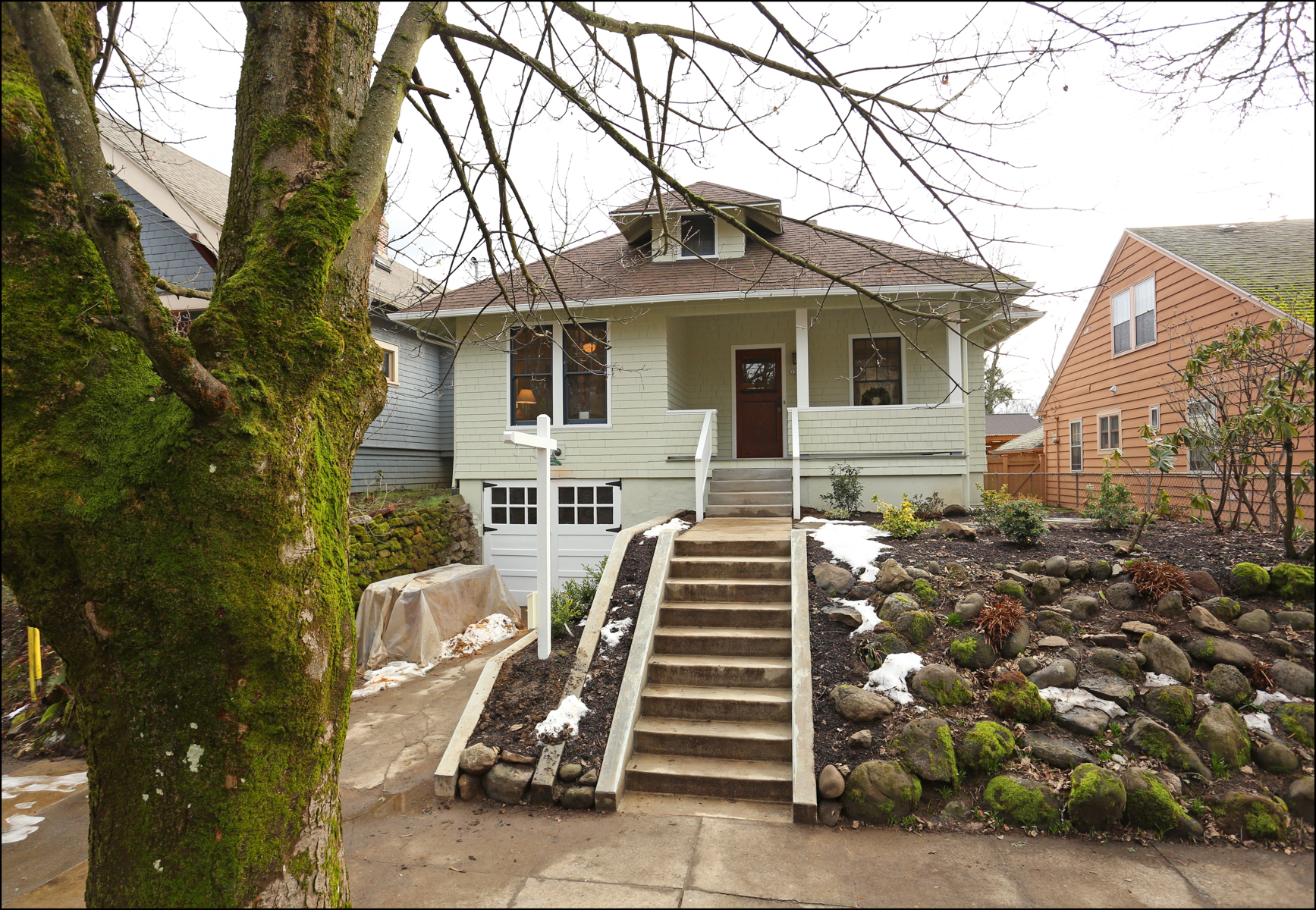 3314 SE Brooklyn St.  Restored Bungalow  SOLD $690,000