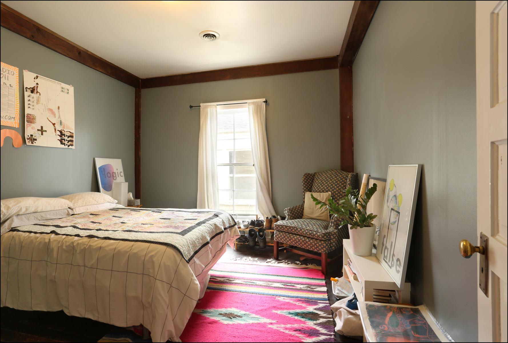 Upstairs unit bedroom 2