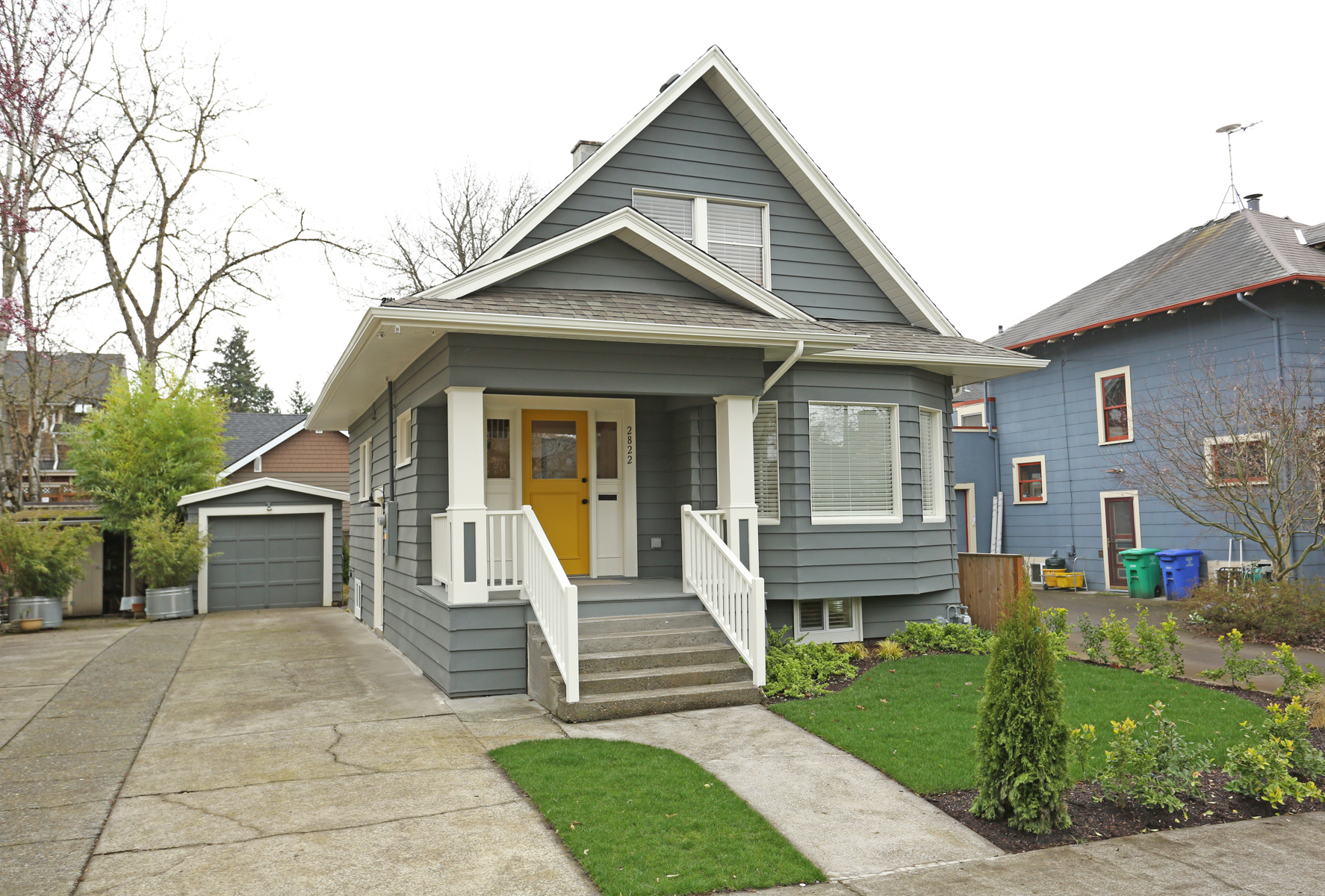 2822 SE 36th Ave.  Remodeled bungalow off Division  $679,000  SOLD for $690,000.