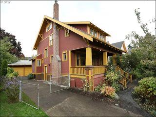 1816 SE 54th Ave.  - Grand Mt. Tabor Craftsman   SOLD       for $725,000