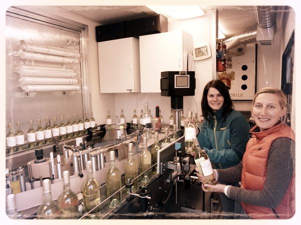 Jennifer & Claire - Picayune first bottling April 2011