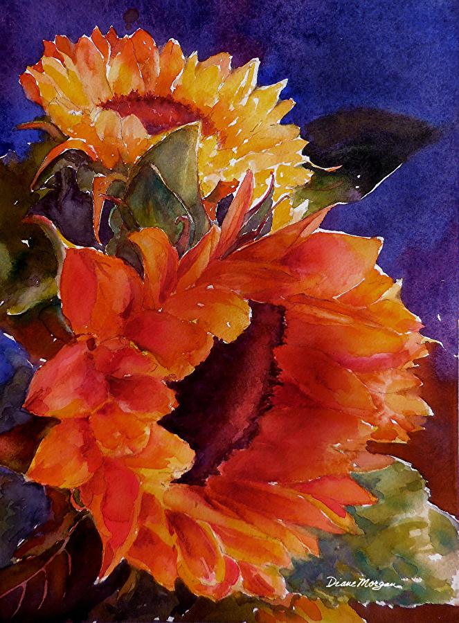 Diane Morgan Sunny Flowers.jpg