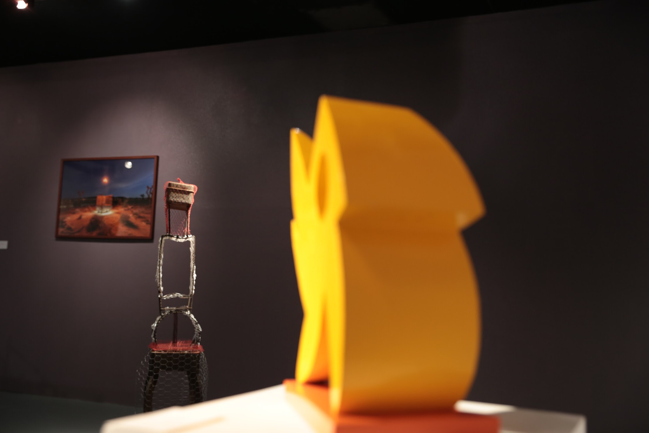 Installation view L to R - Chris Sanchez, Cathy Allen, Delos Van Earl Photo credit: Alyssa Olivas