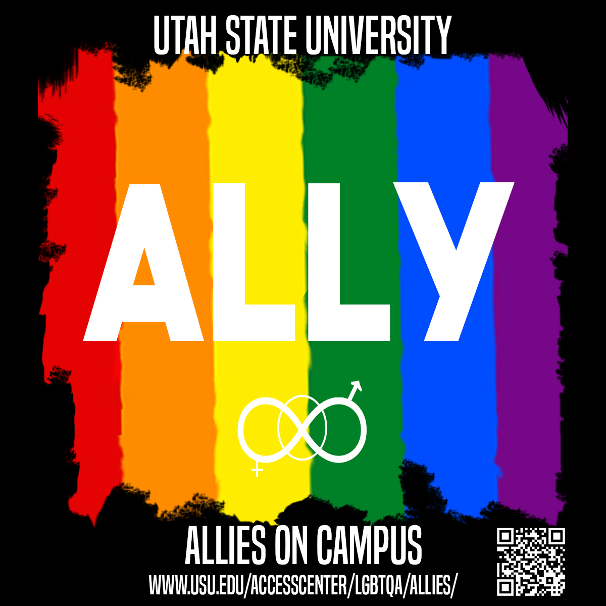 Alexandra is both an Ally and an Allies Trainer on the USU campus.
