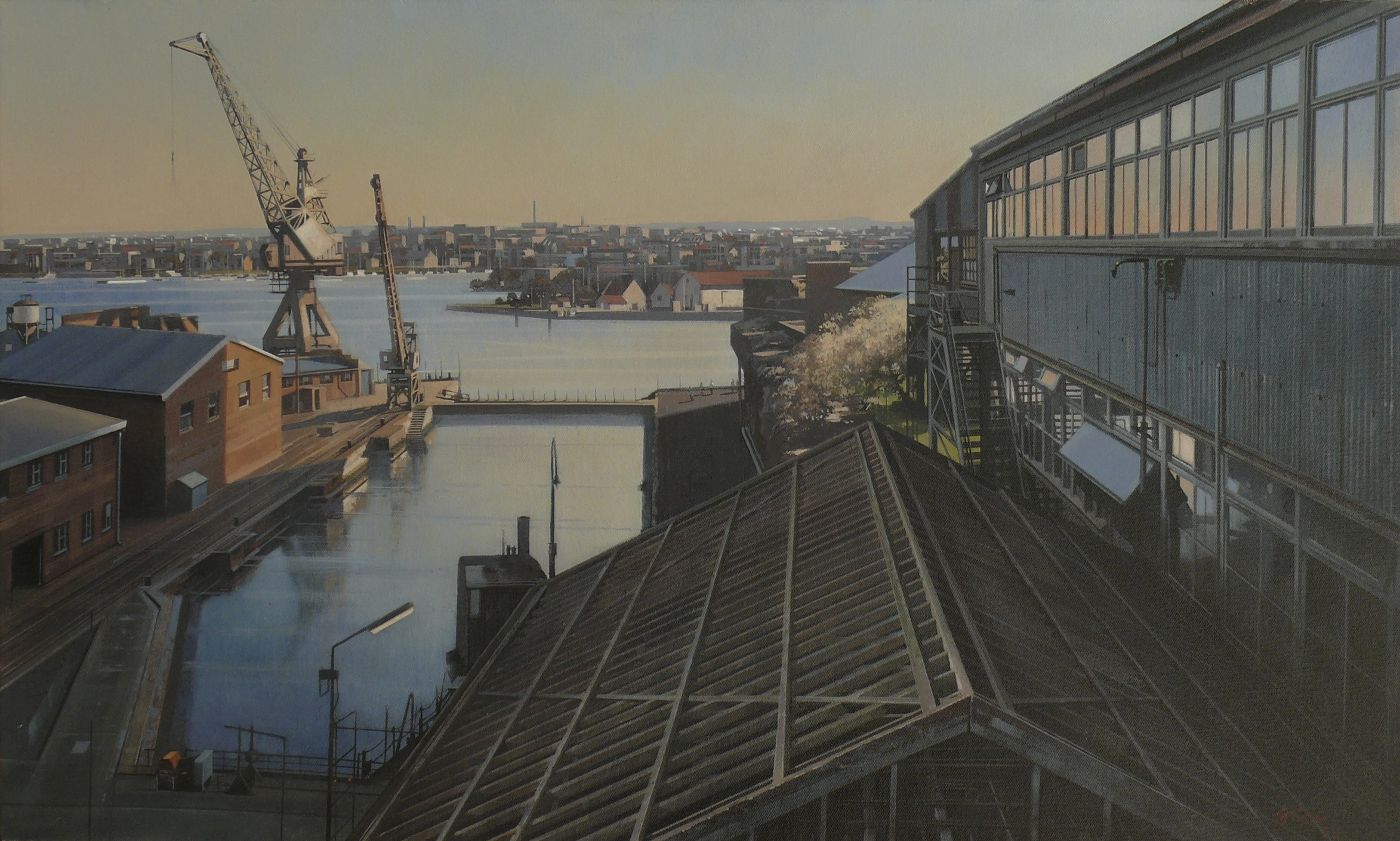 Sutherland Dock, Cockatoo Island ( 2nd state)