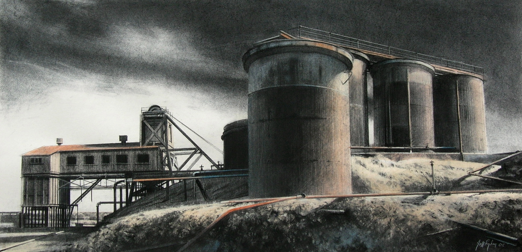 Brown's Shaft and Tanks