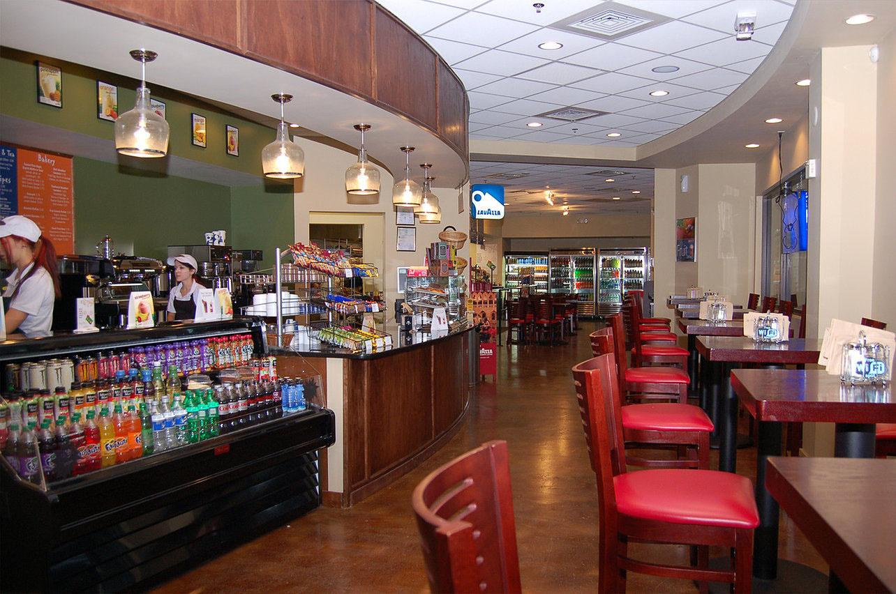 Coffee Shop looking towards Deli