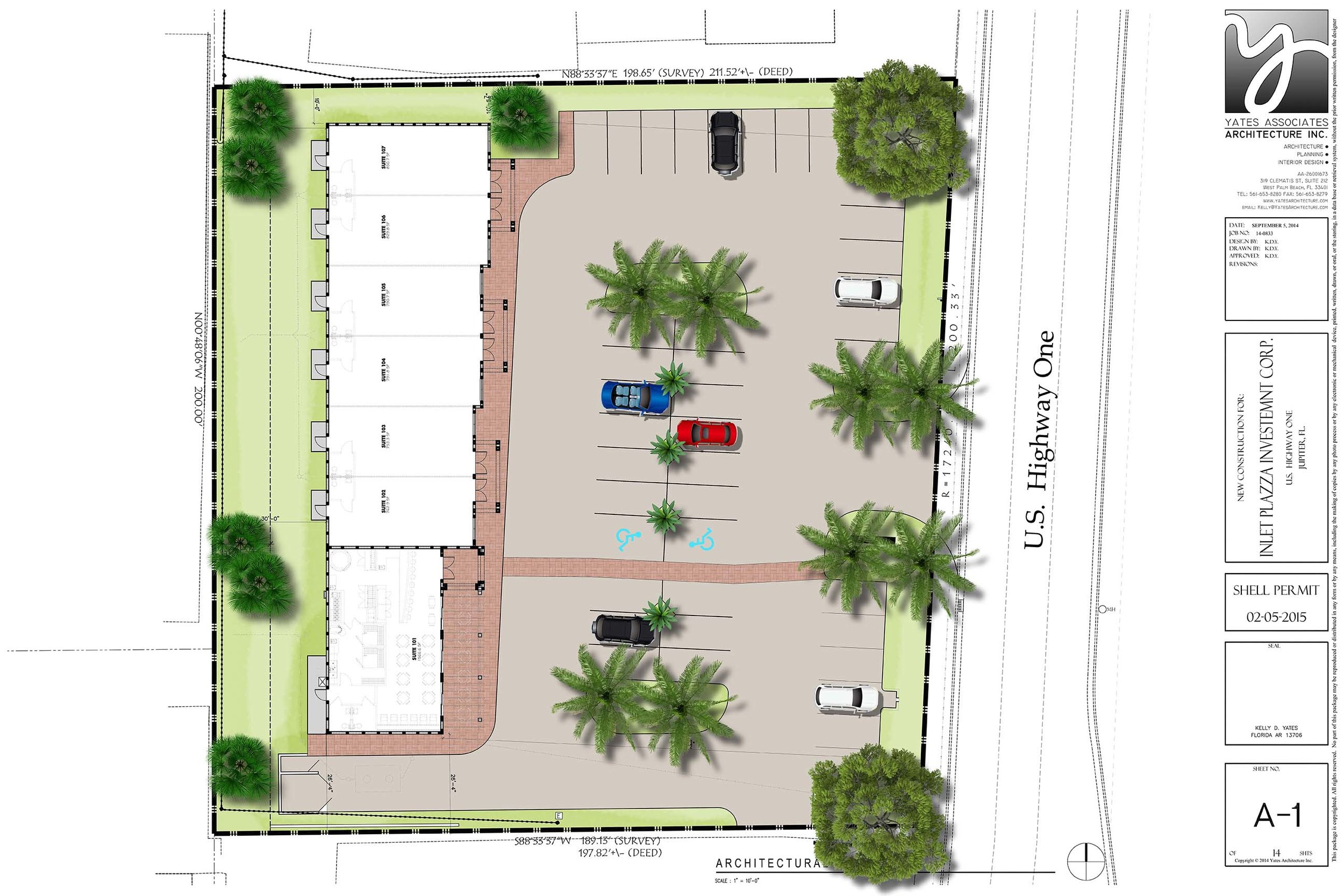 Inlet Plaza Site Plan