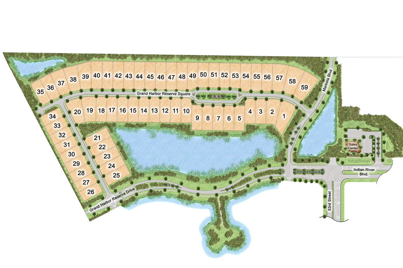 The Reserve at Grand Harbor Site Plan