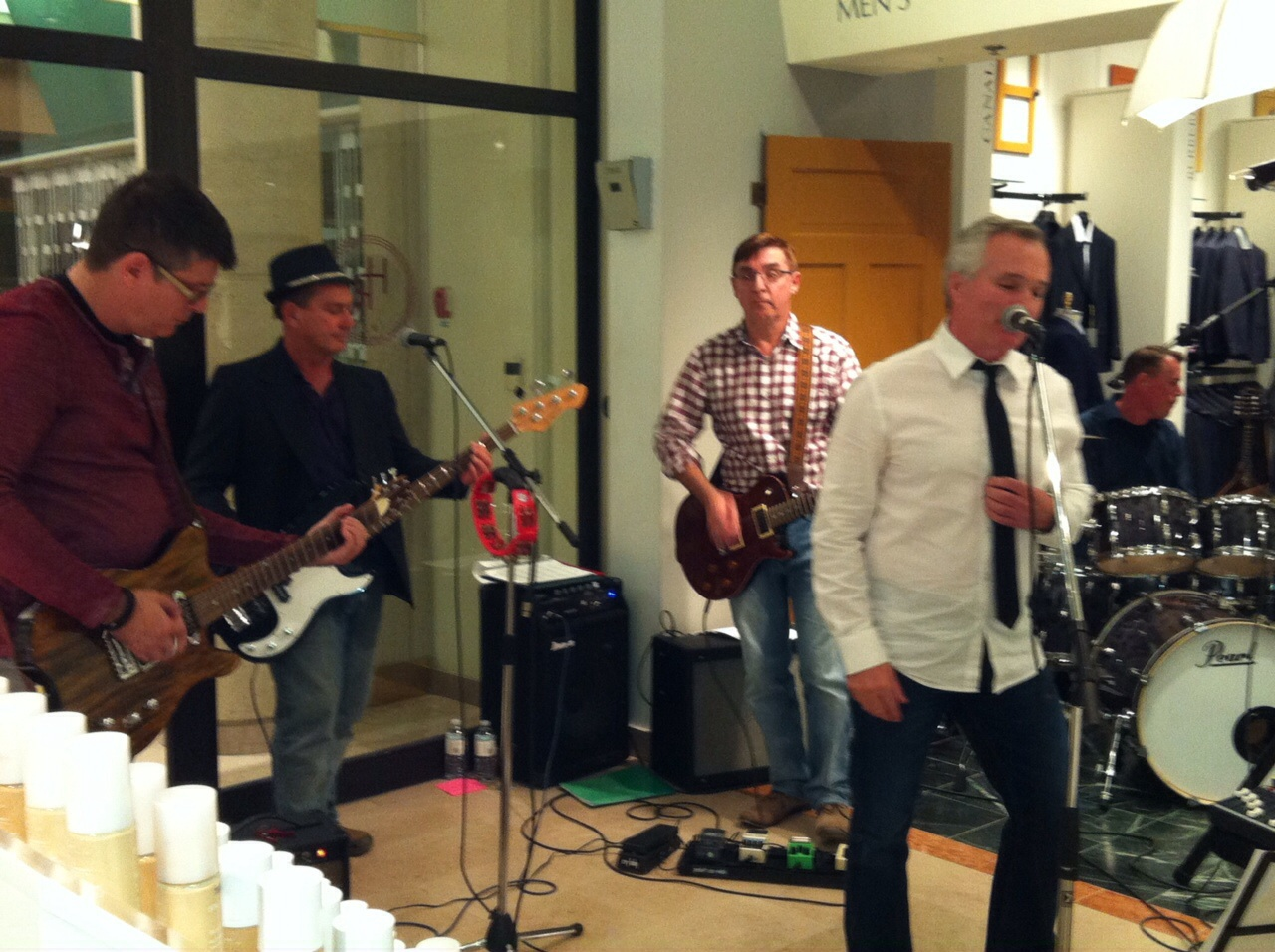 Rockin to raise money for the hospital!