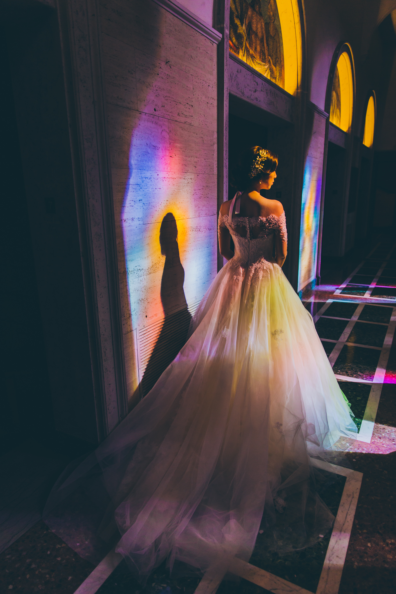 colorful church engagement
