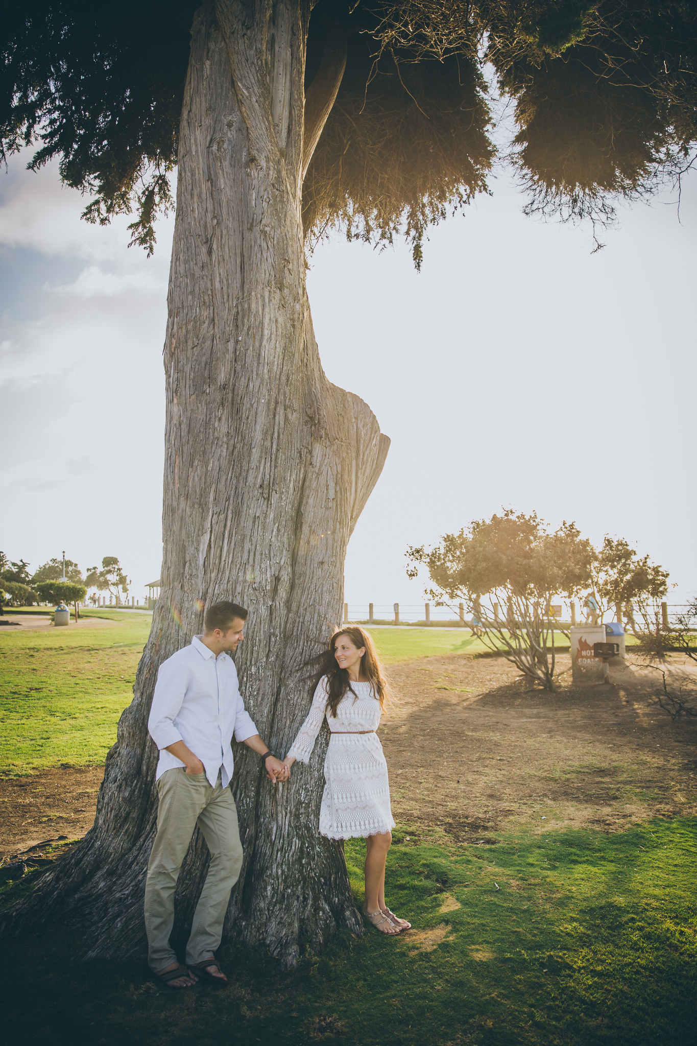 La Jolla Cove engagement session
