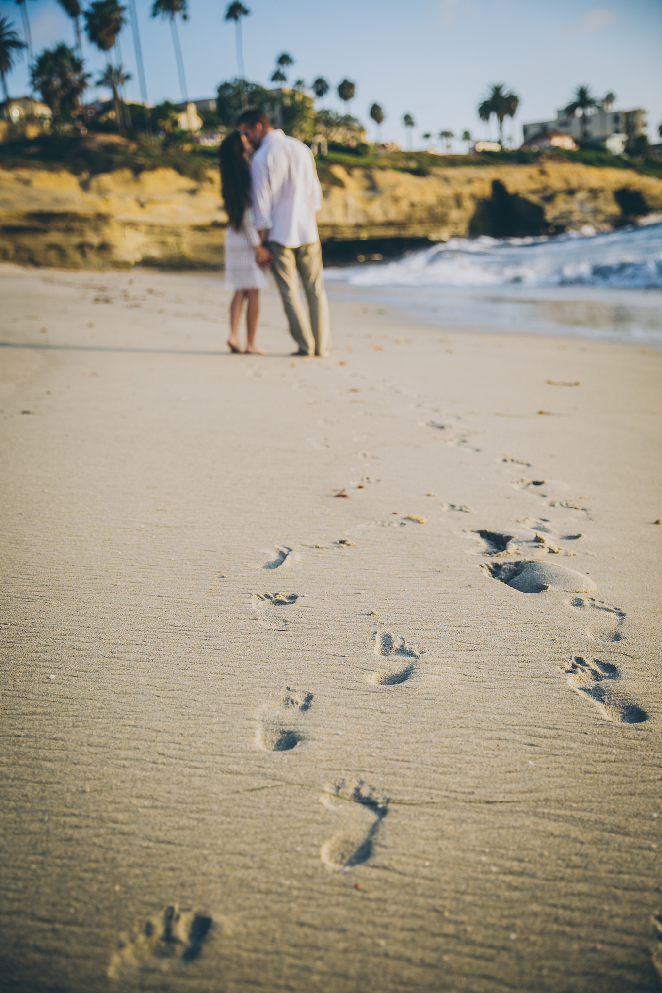 footprint engagement photo