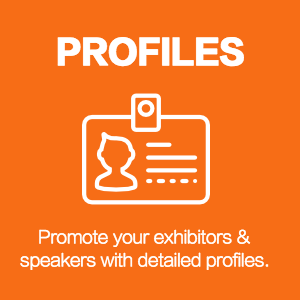 promote exhibitors speakers