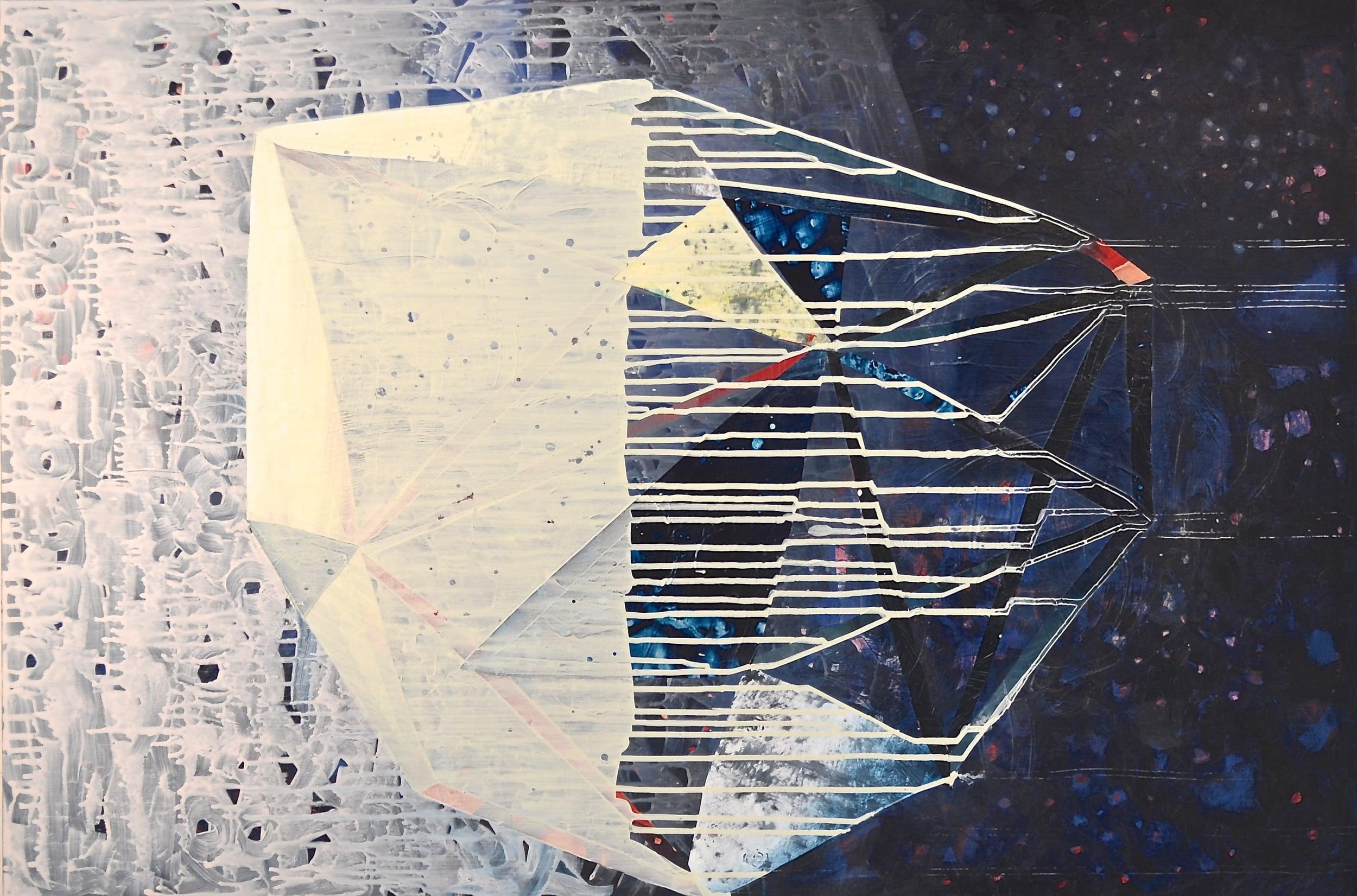 threshold, acrylic on birch panel, 42 x 28 inches, 2015