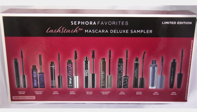 You may have noticed that I mentioned this set in a past post, but I really think that it is great! We are all always looking for the perfect mascara and this gives us the chance to try them all.