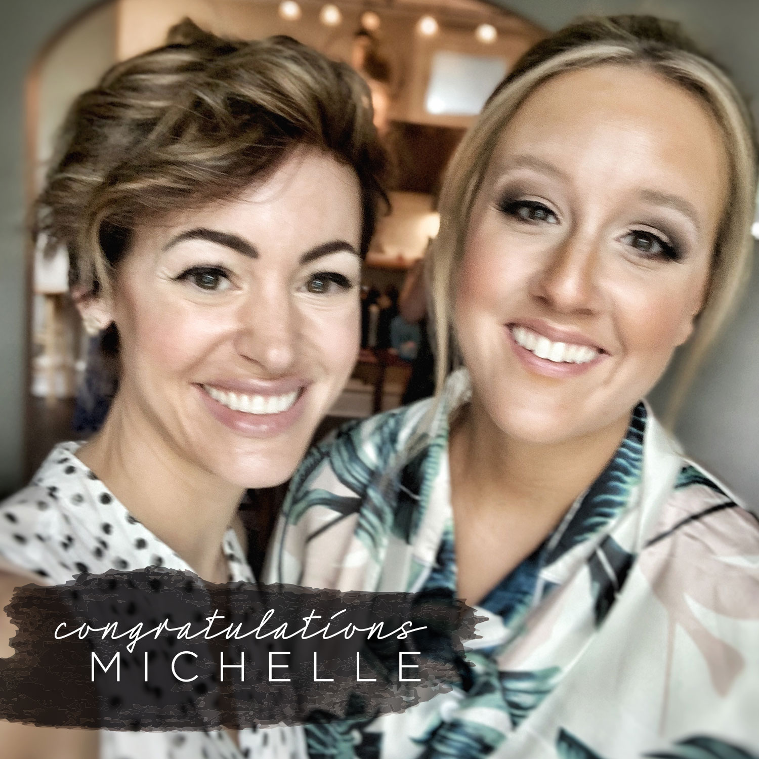 - We had so much fun working with Michelle this past weekend. Here is the list of linked products we used for her big day.
