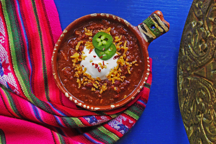 """Chili """"NON"""" Carne by EARTHCANDY ARTS (Photo by PATRIZIA HUMAN)"""