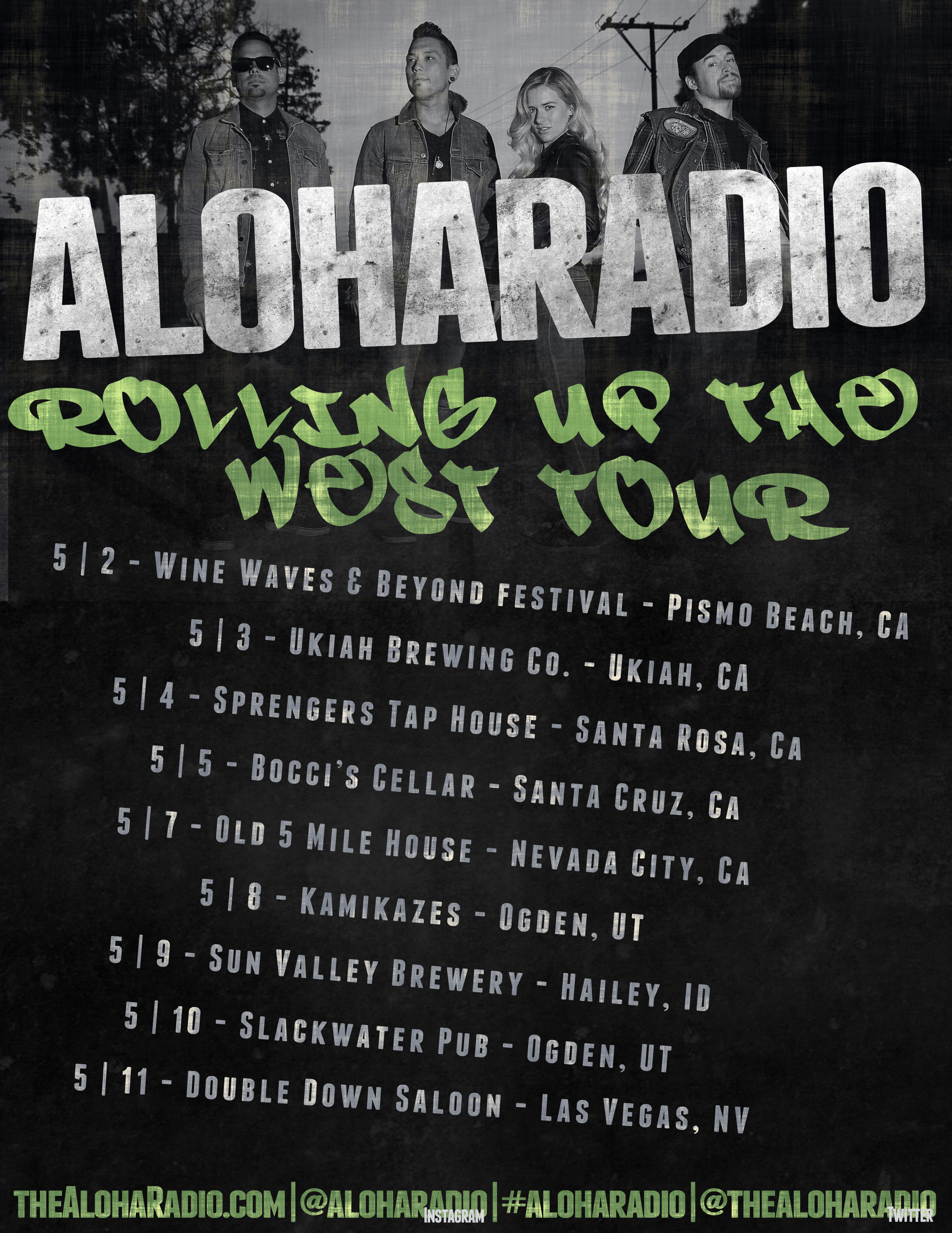 Aloha Radio -Rolling Up the West Tour - Las Vegas Date Added