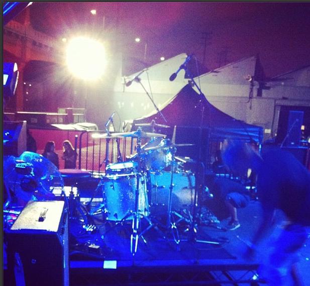 The Drums' drums