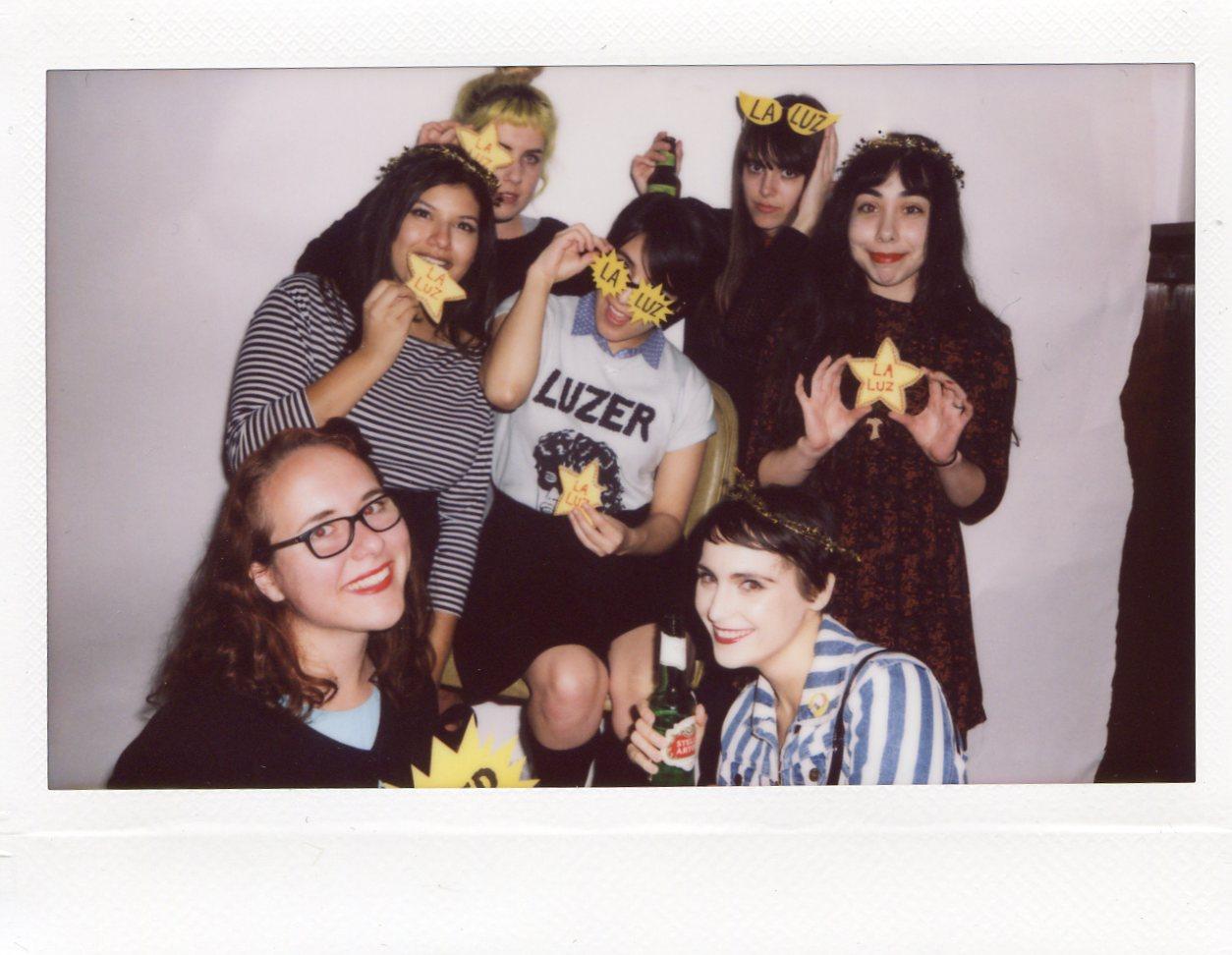 Angela, Mukta, Hannah, Chelsea, Justine, Gabrielle, and Monique