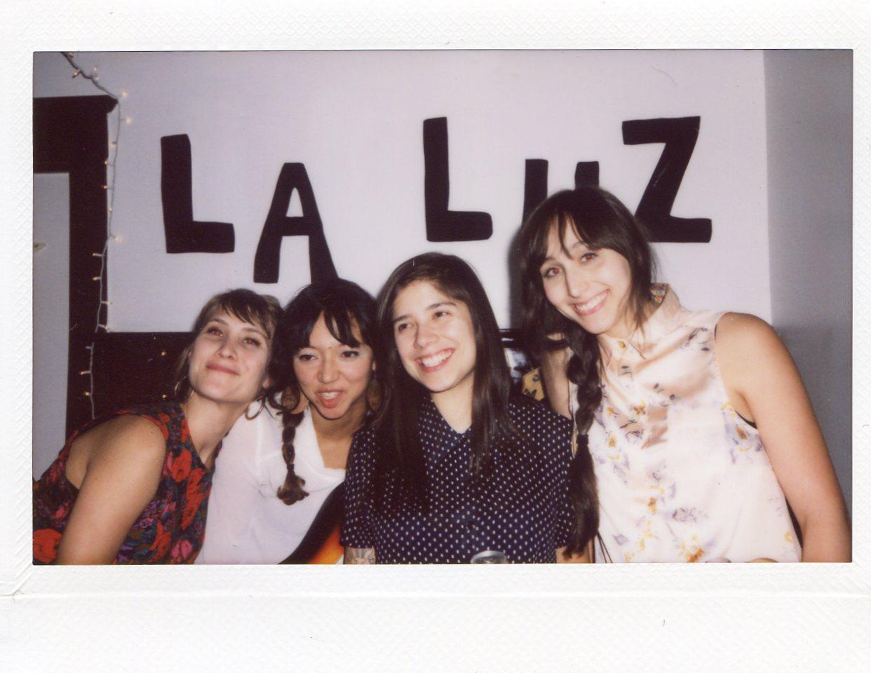 The girls in La Luz!