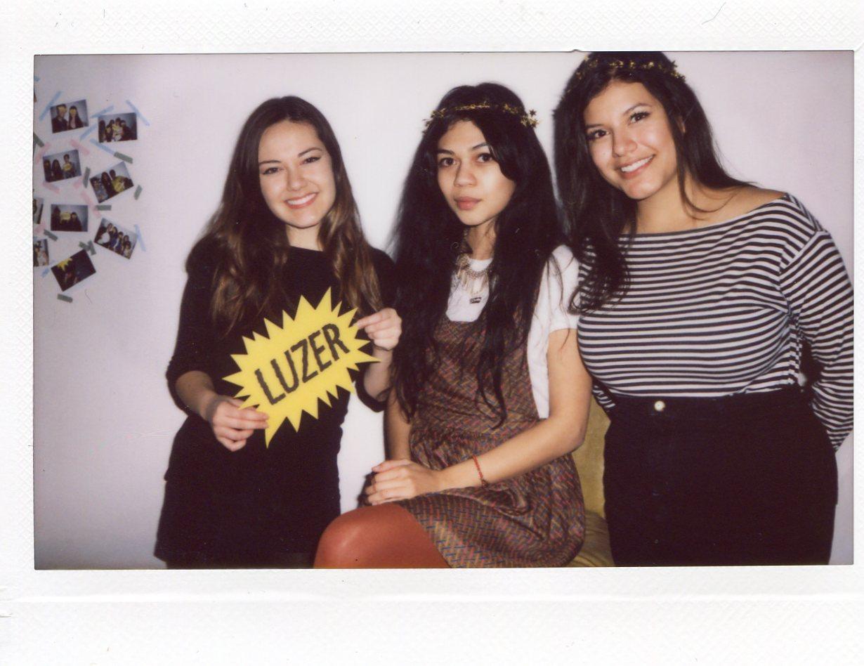 Cara, Diana, and Mukta