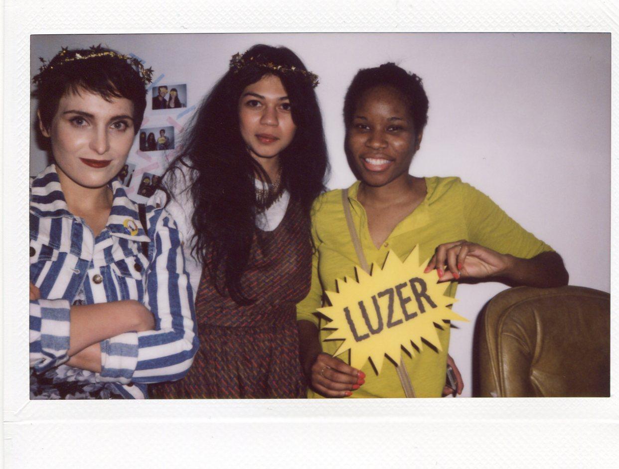 Monique, Diana, and Wazy
