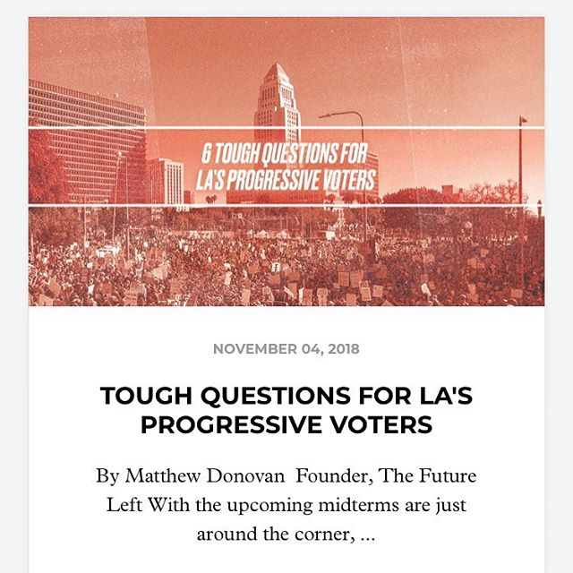 @thefutureleft founder @matthew_j_donovan wrote this article about confusing and deceptive choices on the ballot for progressives! Check it out on the @restlessnites site to help you be as informed as possible to VOTE TUESDAY NOVEMBER 6th! :) http://bit.ly/6toughQs