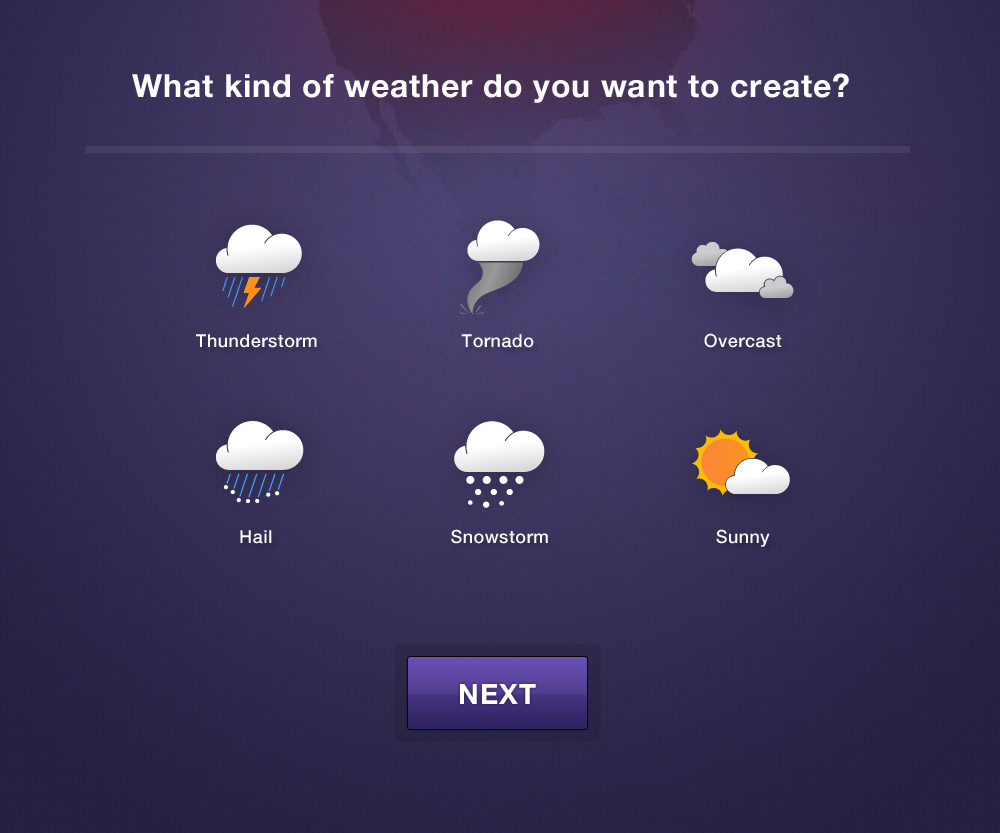 These weather icons were fun to make!