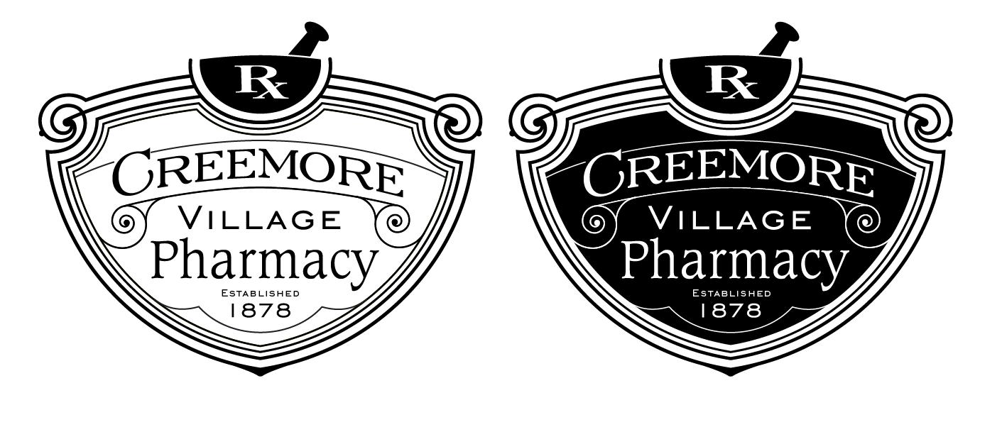 CreemoreVillagePharmacybw_logo.png