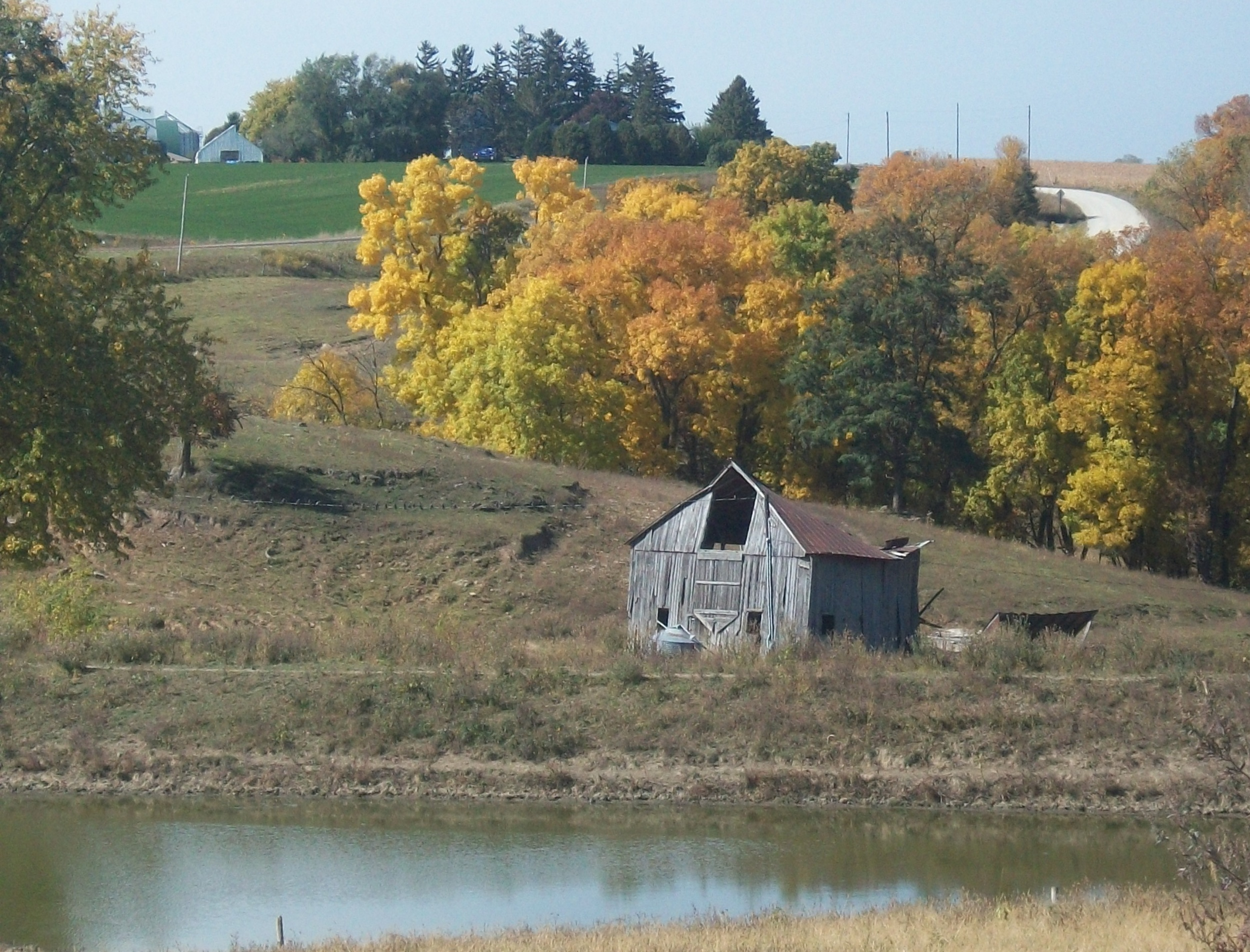 3rd Place Autumn Barns - Dorothy Jorgenson