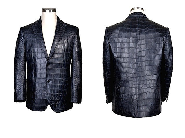 CROC BELLY BLAZER