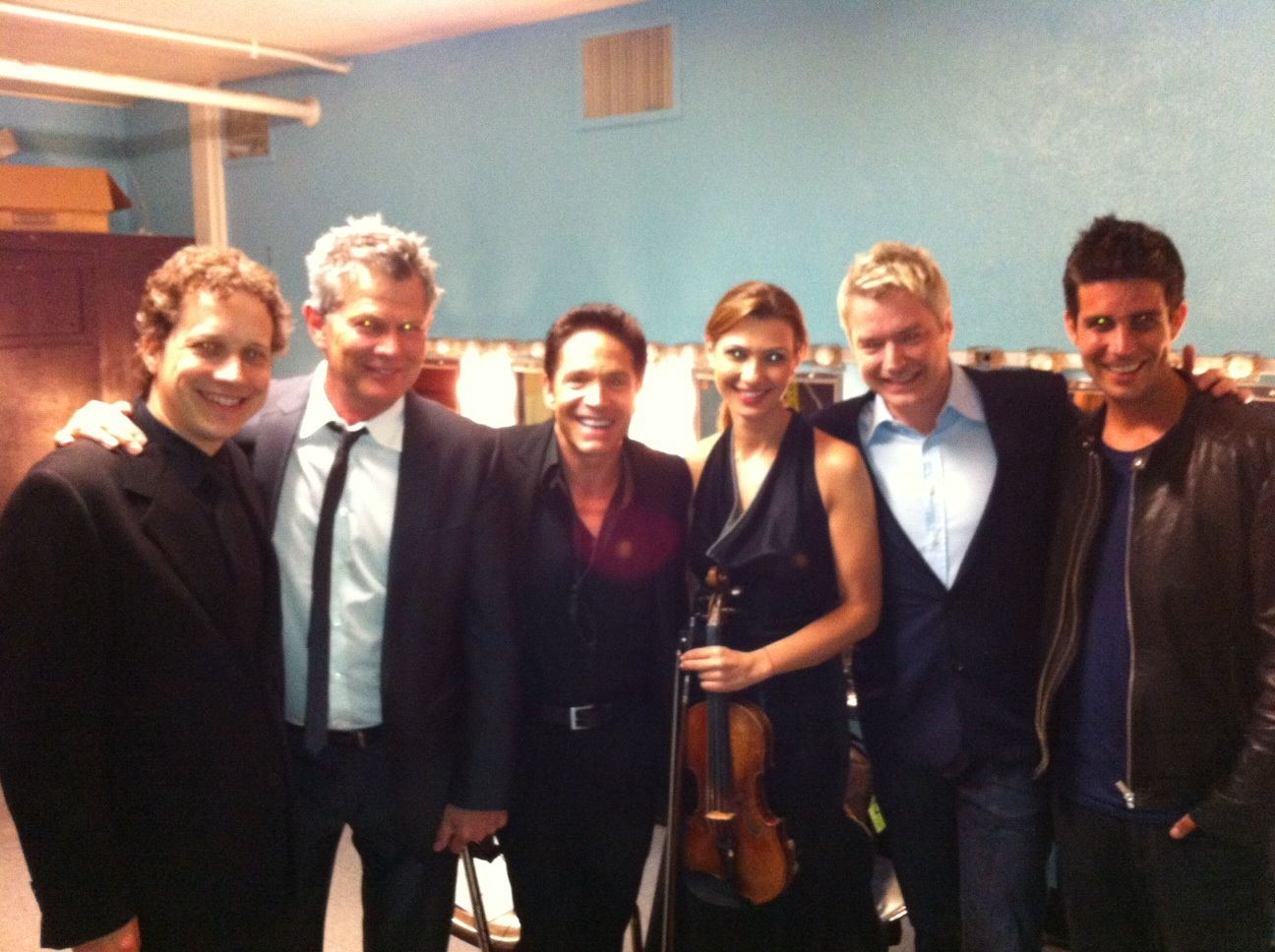 CW, David Foster, Dave Koz, Yelena Yegorian, Chris Botti (2012)