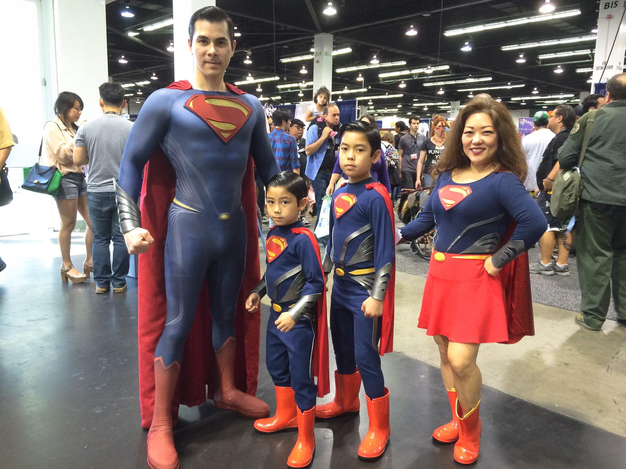 Family cosplay is our favorite cosplay