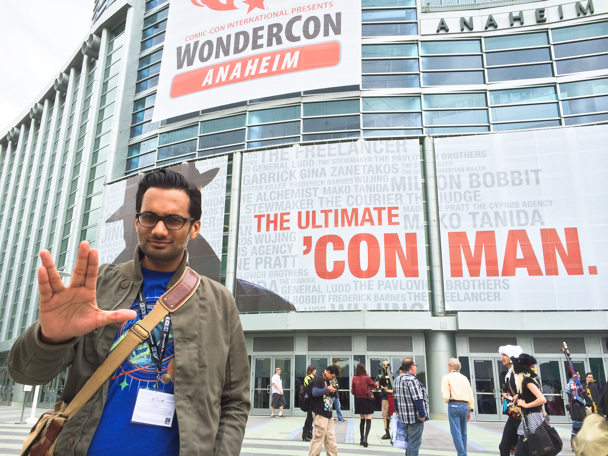 Ali Mattu at WonderCon 2014