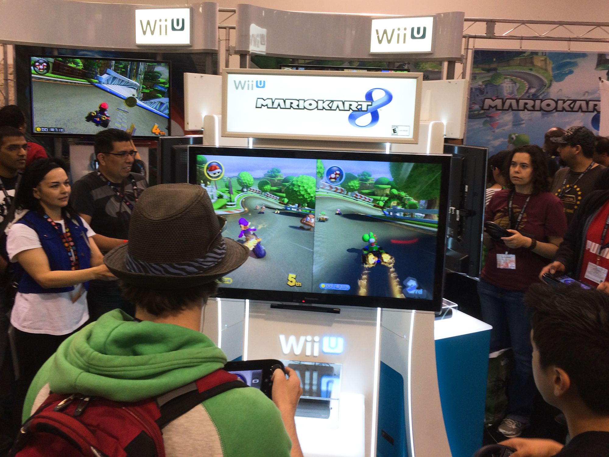 Mario Kart 8 at WonderCon