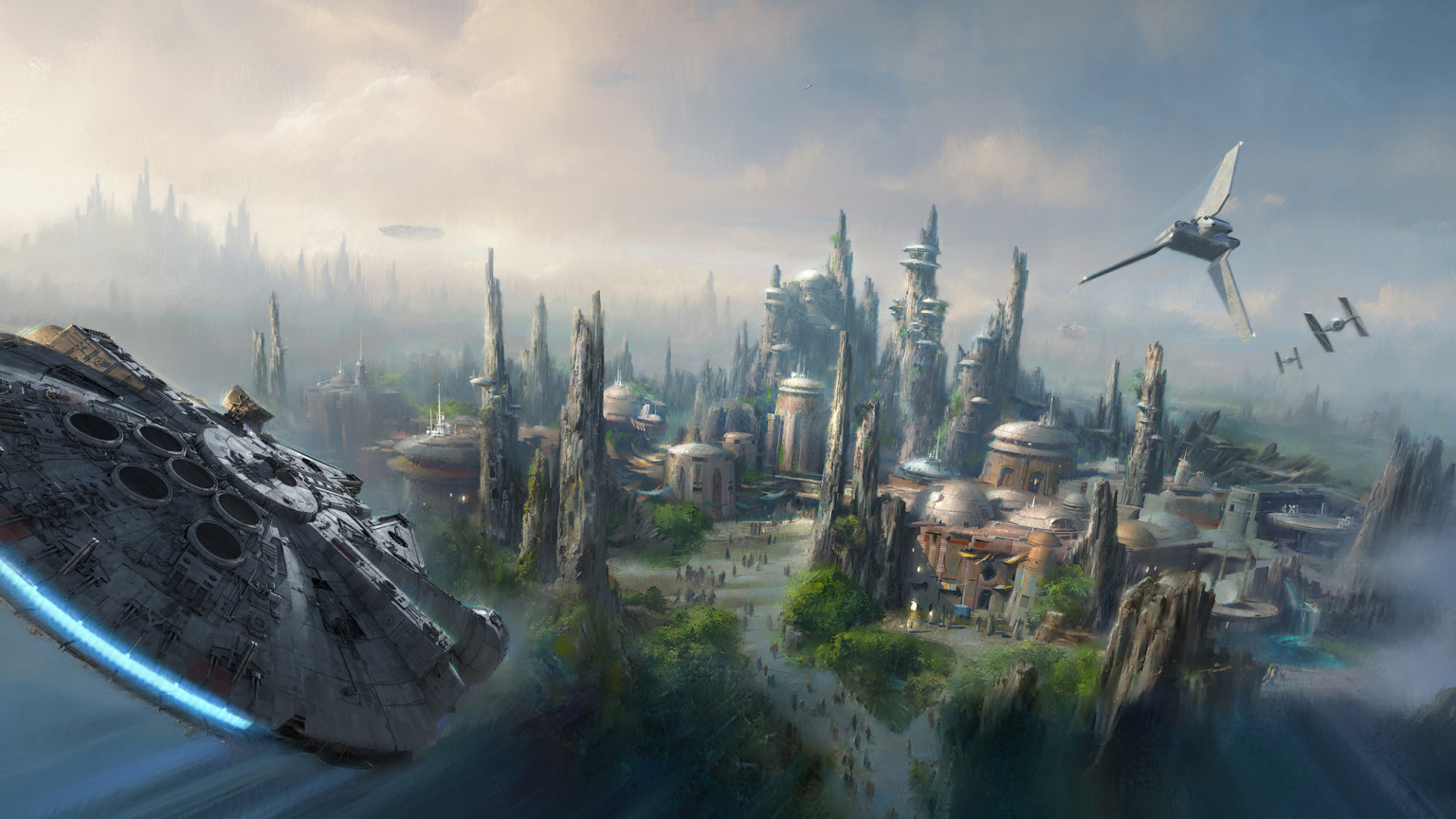 Star Wars theme park coming to Disneyland and Disneyworld