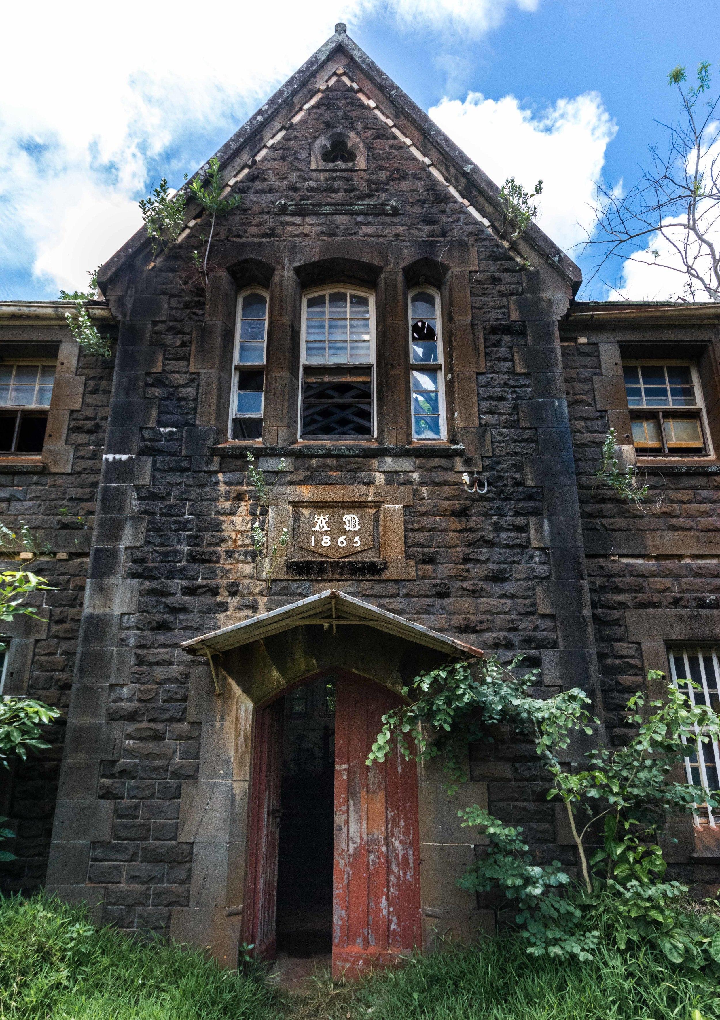 1865 Building detail
