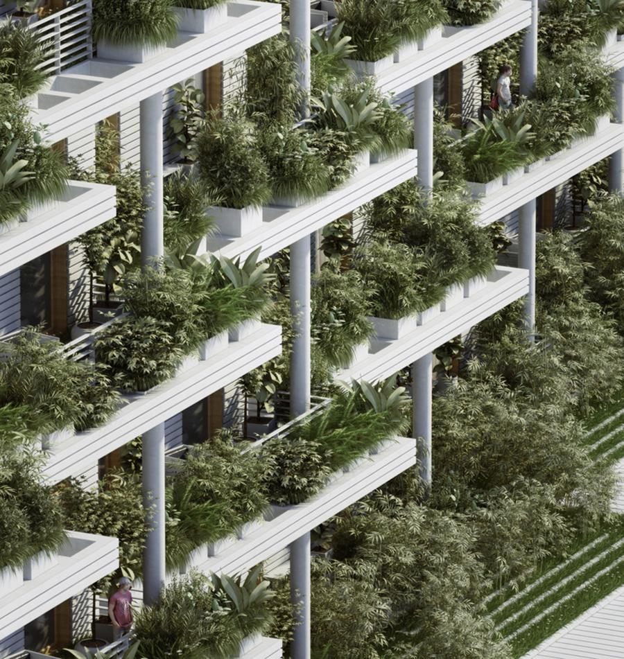 Penda,Sky Villas with Vertical Gardens ,Hyderabad.