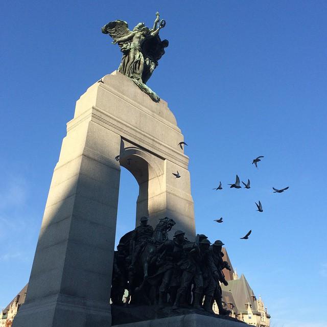 War memorial #ottawa #rembranceday #canada