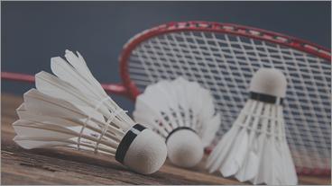 Badminton - Book baner og aktiviteter