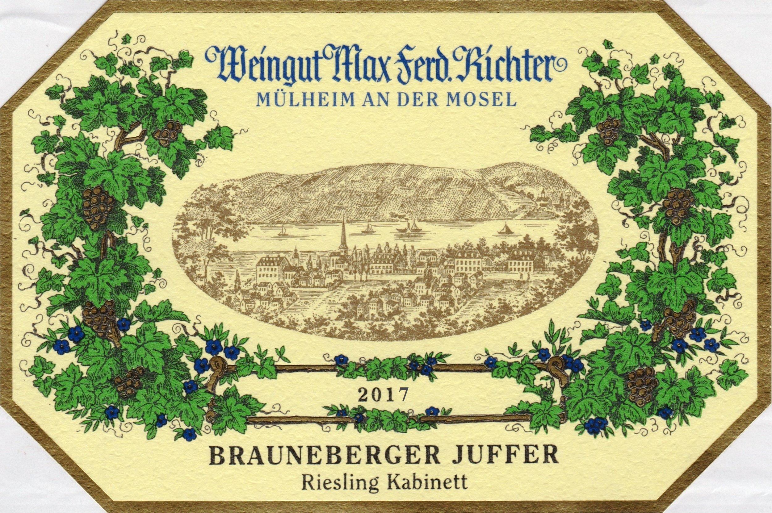 2017 Brauneberger Juffer Kabinett.jpg