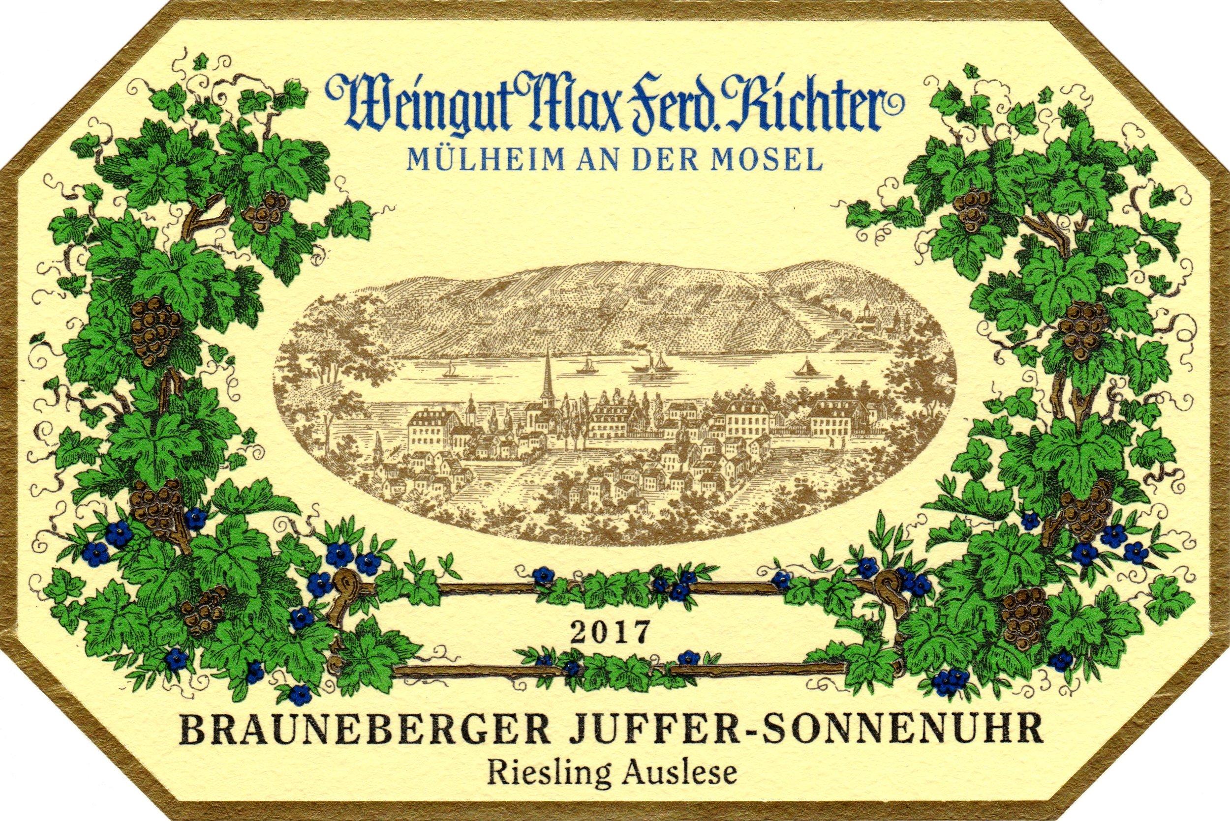 2017 Brauneberger Juffer-Sonnenuhr Auslese.jpg