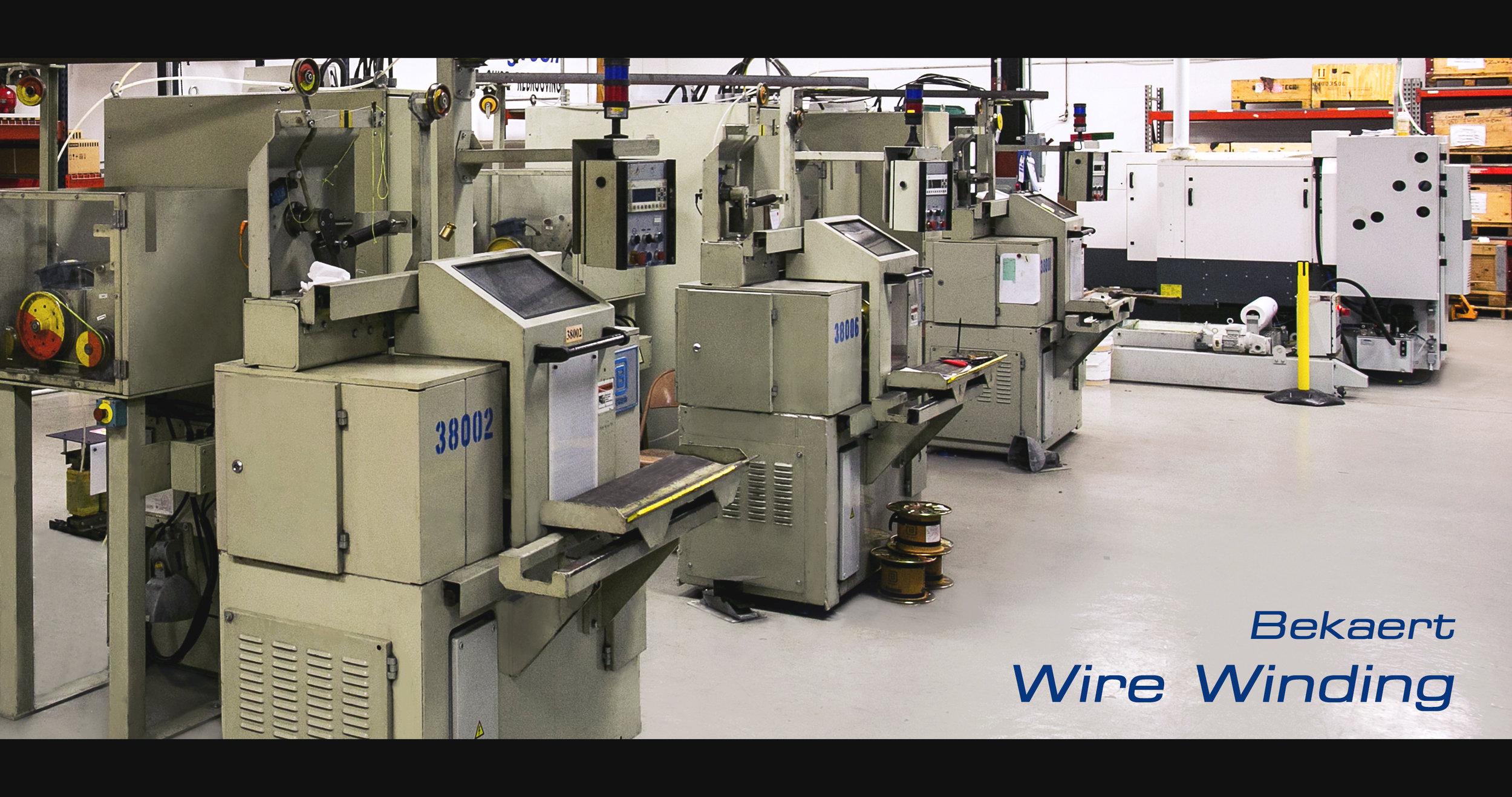 Bekaert Wire Winding Machine