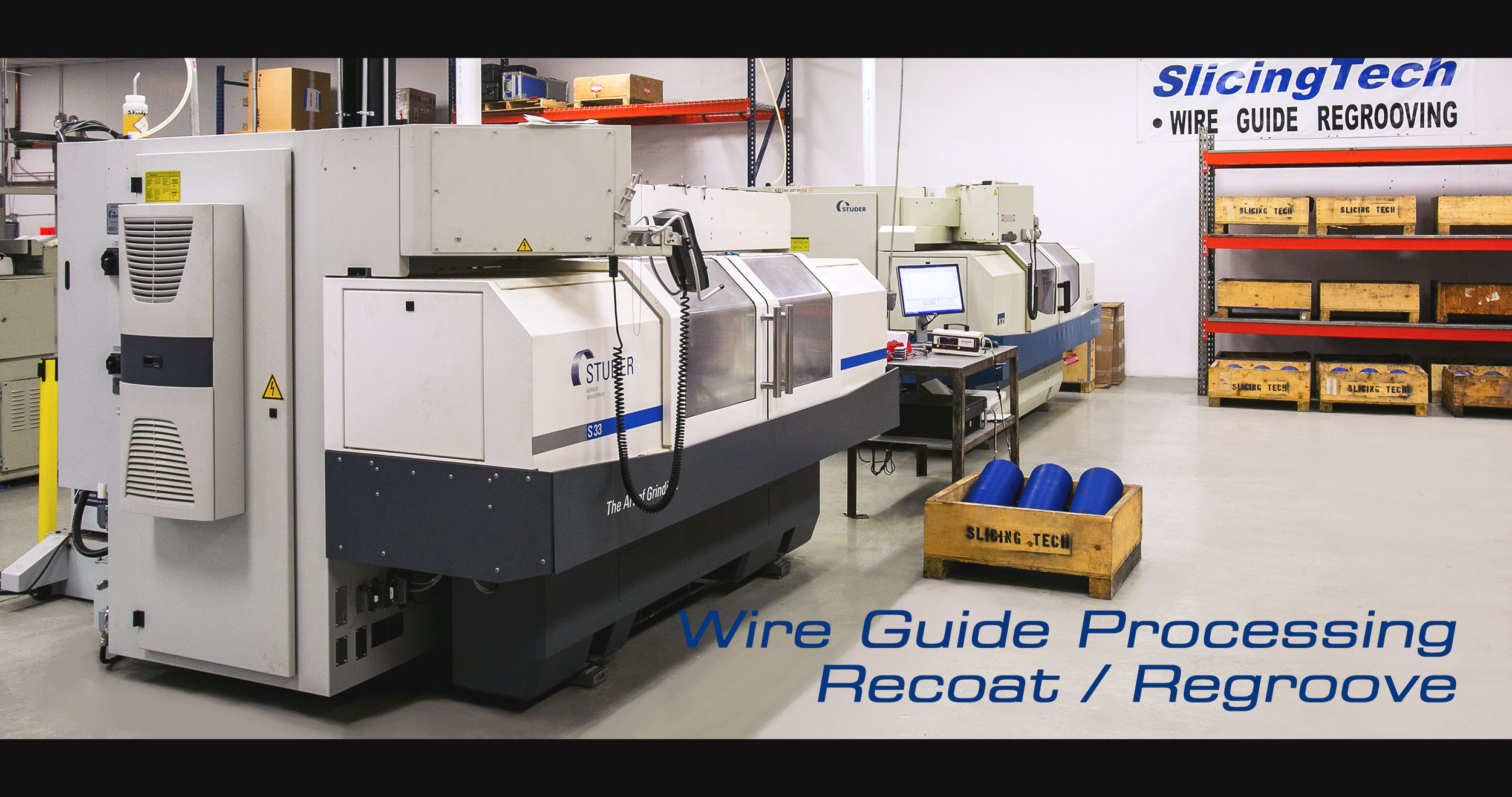 SlicingTech Wire Guide Reprocessing, Recoating and Reproving