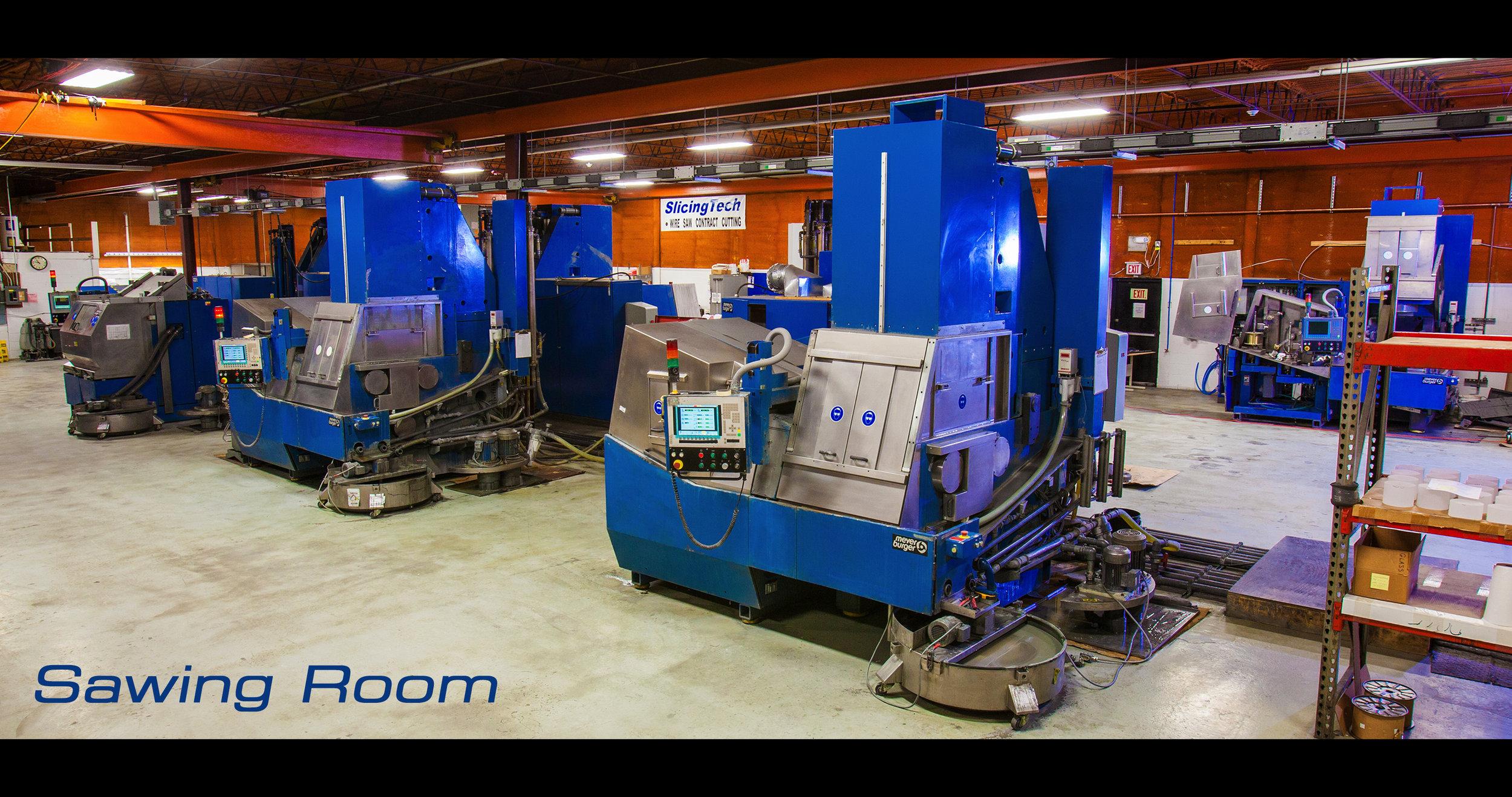 SlicingTech Sawing Room
