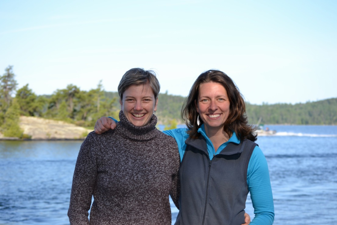 Tanya McCubbin and Louise Pigeau, Manager and Assistant Manager