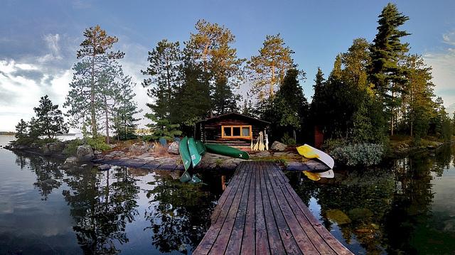 Miniss Cabin on Paul's Island