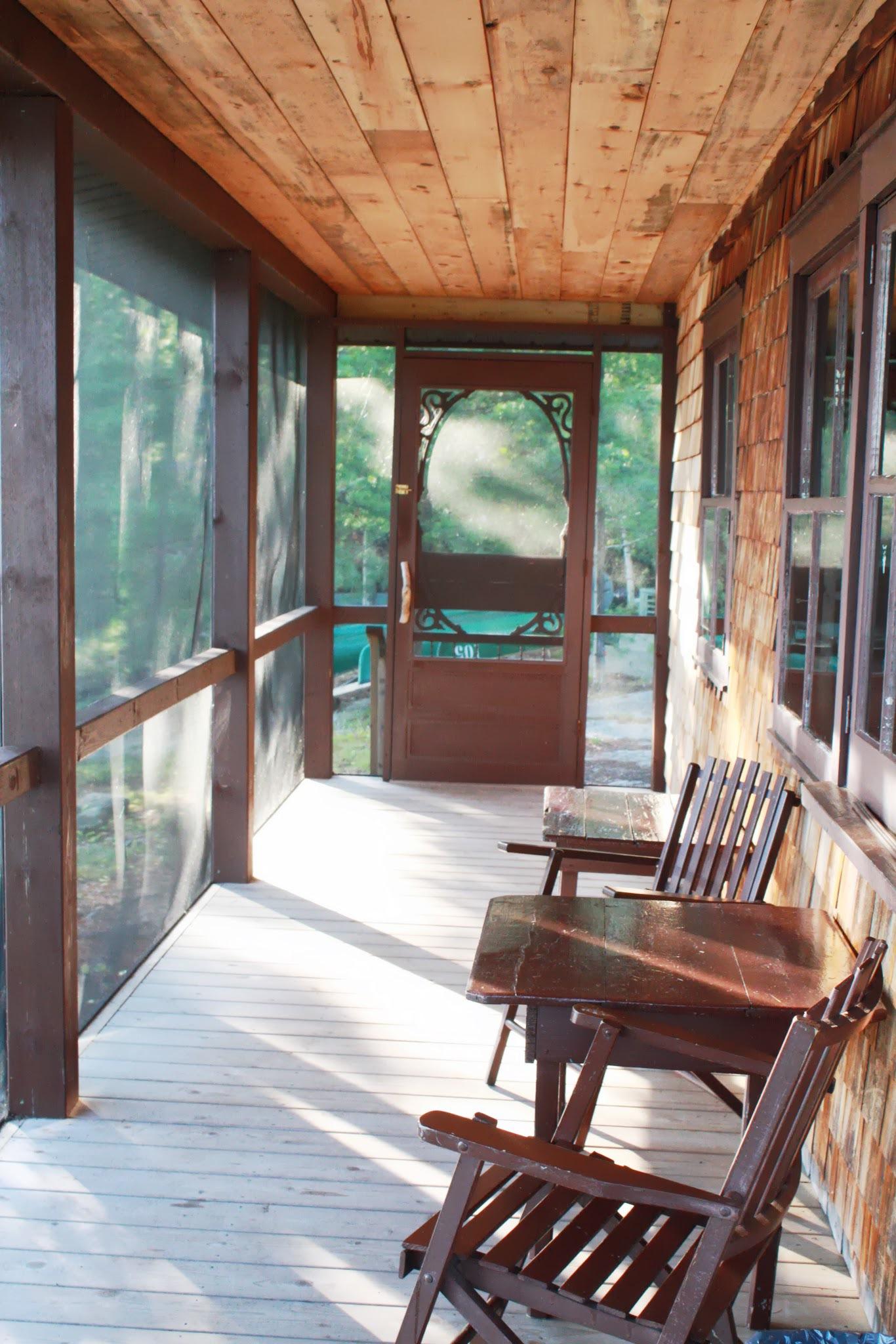 Ojibway Lodge Porch